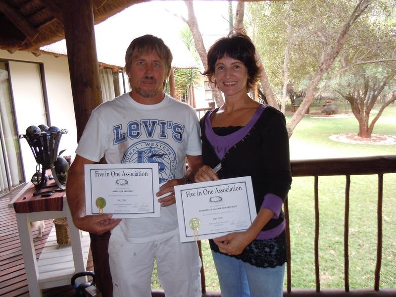 Pastors Petronella and Sarel Van der Walt